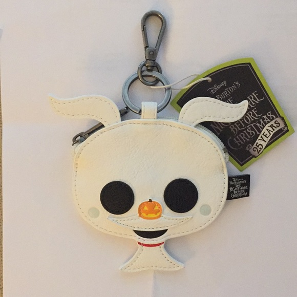 1ccde0f4a6d Nightmare Before Christmas Zero Chibi Coin Bag